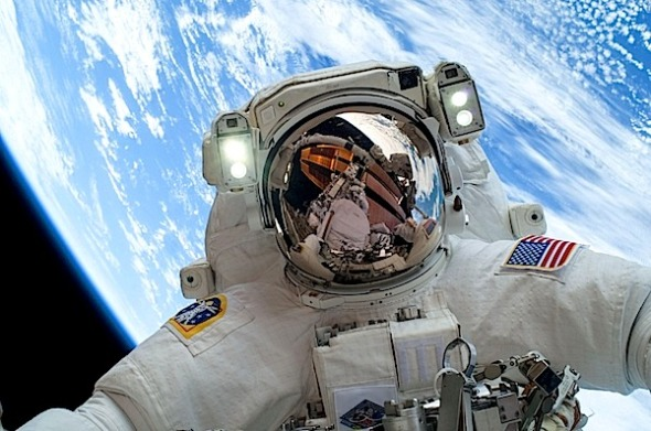 First Selfie from Space