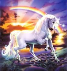 unicorns-rainbow