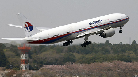 Missing Malaysian Airlines Plane