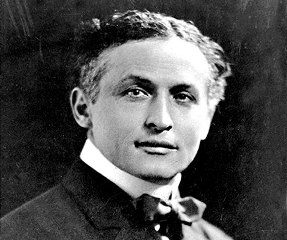 The legendary Harry Houdini
