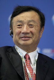 Ren Zhengfei, founder of Huawei, is seen as a Chinese version of Steve Jobs. Credit Dmitry Lovetsky/Associated Press