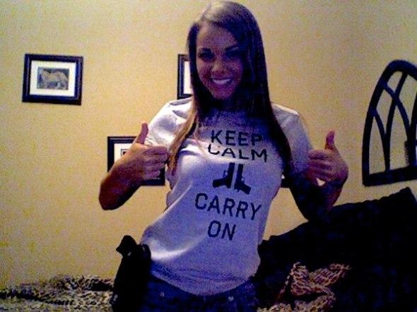 keepcalmcarryon-girl-gun