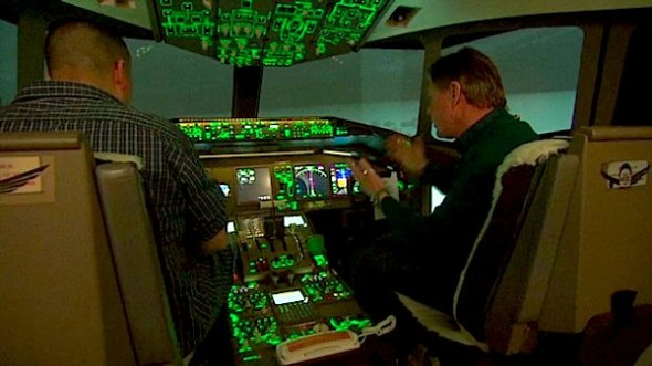 Nobody knows exactly what happened to Malaysia Airlines flight 370. This simulator brings you inside what the cockpit would have looked like at the time of disappearance. (CNN image)
