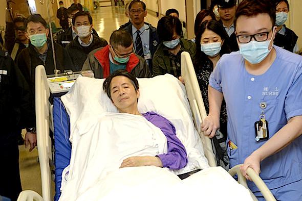 Mr.Lau-hospital