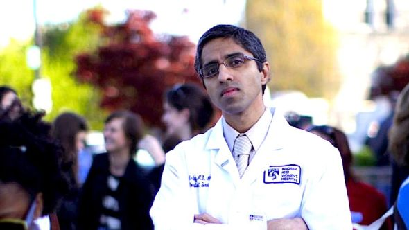 Dr. Vivek Murthy outside the Supreme Court in Washington, D.C.REUTERS