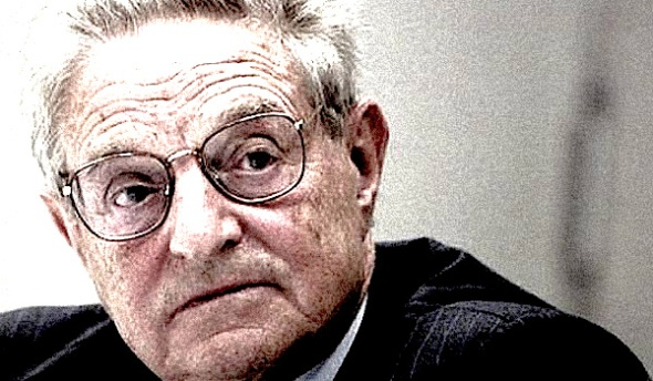 Bankrolled: Tax filings revealed that Soros pumped millions into groups that bussed protesters to Ferguson, Missouri, from around the country and co-ordinated campaigns to keep it in the media