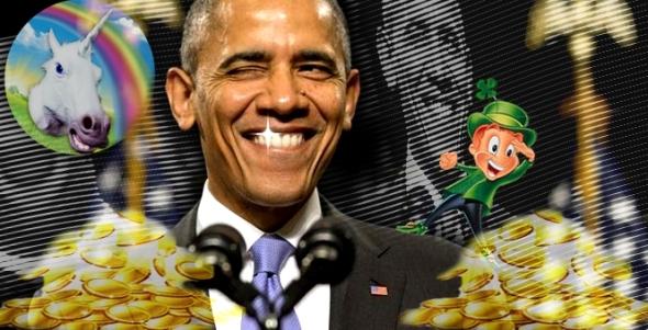 Sparkly-Obama-Unicorn-Gold-Coins