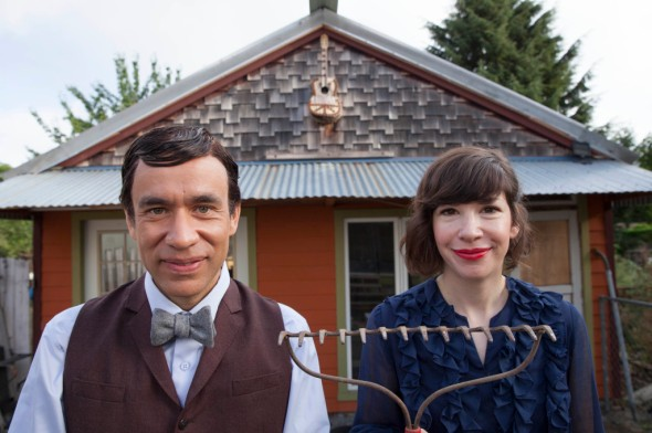 Left to Right: Fred Armisen & Carrie Brownstein - Episode 2: Ecoterrorists -   Photo Credit: Augusta Quirk/IFC