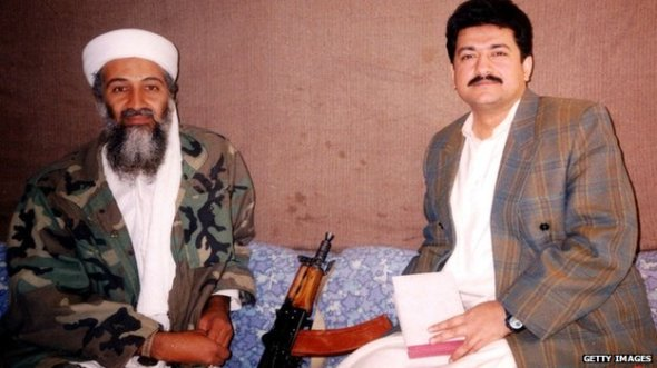 In 2001, Mr Mir became the first journalist to interview Osama bin Laden following the 9/11 attacks