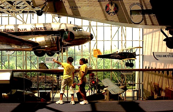 National Air and Space Museum (Photo by Stefan Zaklin/Getty Images)