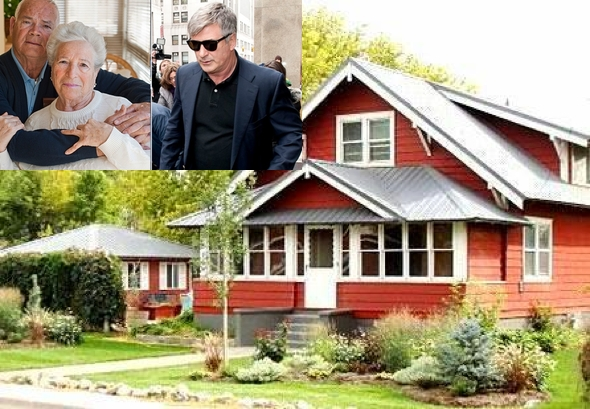 Idaho couple Abbie and Walter Johnson host actor Alec Baldwin, at their farm in Idaho, under terms of deal