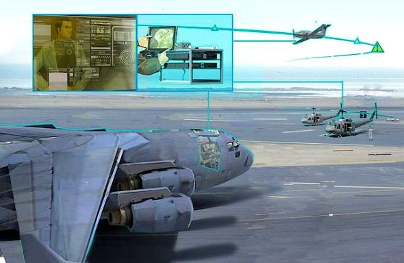 ALIAS envisions a tailorable, drop‐in, removable kit that would enable the addition of high levels of automation into existing aircraft to enable operation with reduced onboard crew. (Image: DARPA)