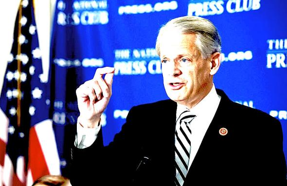 Rep. Steve Israel, D-N.Y., chairman of the DCCC, speaks at the National Press Club's Newsmaker series on how Rep. Paul Ryan's, R-Wis., budget will effect the midterm elections. (Photo By Tom Williams/CQ Roll Call/Getty Images)