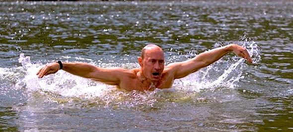 swimmer-putin