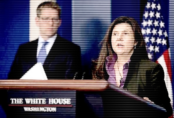 Council of Economic Advisers member Betsey Stevenson, accompanied by White House press secretary Jay Carney, speaks during the daily news briefing at the White House in Wednesday, March 12, 2014. (AP Photo/Pablo Martinez Monsivais)
