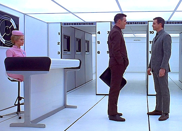 "From Stanley Kubrick's ""2001: A Space Odyssey"""