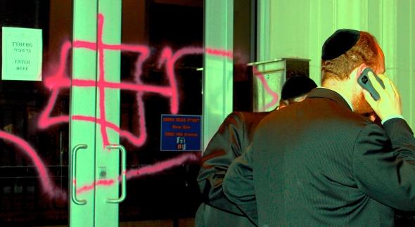 anti-semetic-graffiti