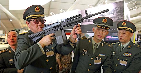 china-gun-running