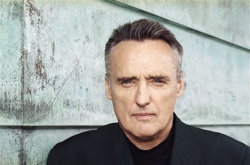 """A July 10, 1991 photo shows actor Dennis Hopper. To celebrate the legacy of Dennis Hopper and his iconic counterculture film """"Easy Rider,"""" motorcyclists and movie fanatics from as far away as Canada have traveled to northern New Mexico. They're gathering Saturday, May 17, 2014 in the dusty, adobe encircled plaza at Ranchos de Taos to kick off what town officials hope will be an annual event, Dennis Hopper Day. Saturday would have been the late actor's 78th birthday. (AP Photo/Julie Markes, File)"""