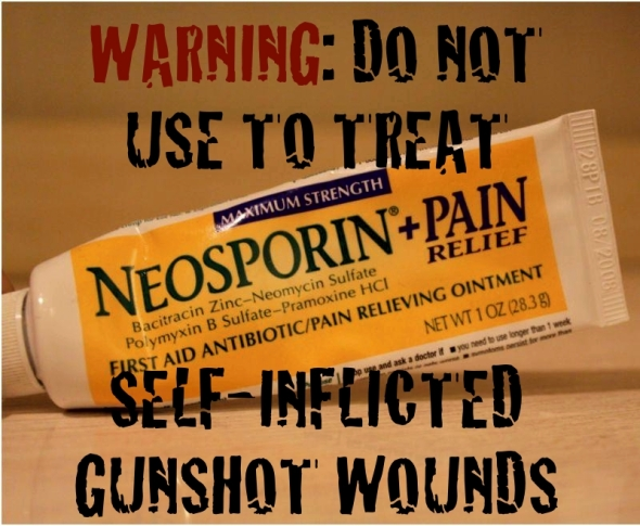 Neosporin-Warning