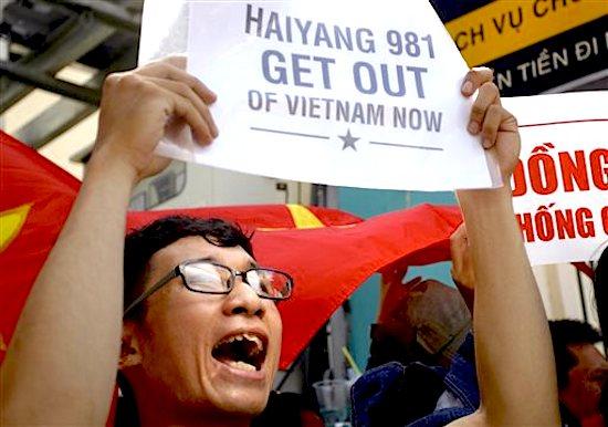 Vietnam China Anger