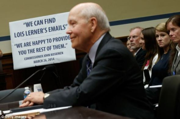 Koskinen fended off accusations Monday night that he lied to Congress on March 26 when he promised the IRS would turn over all of Lerner's emails