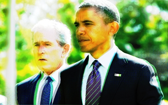 bush-obama-walking