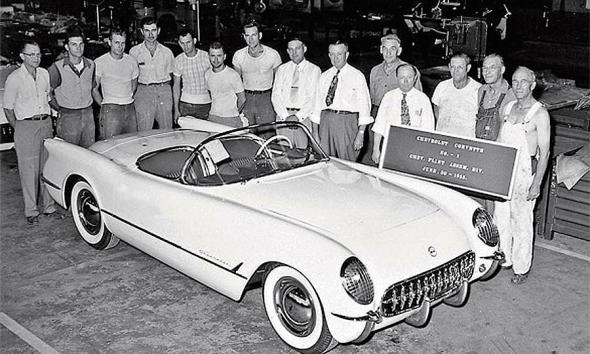 corvette-debut