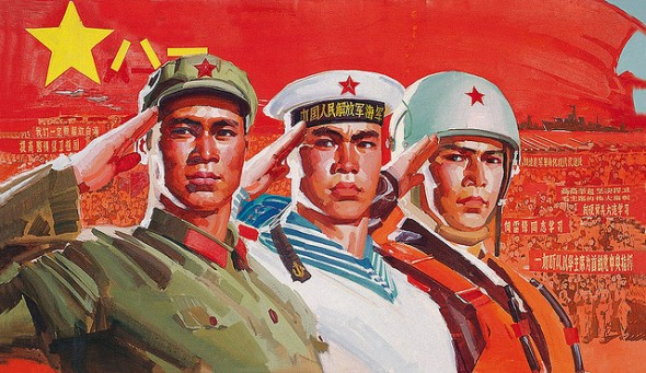 DC-China-Propoganda-Military-Painting