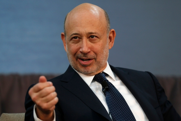 Goldman Sachs CEO Lloyd Blankfein Photo: Reuters