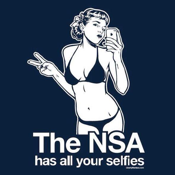 NSA-selfies