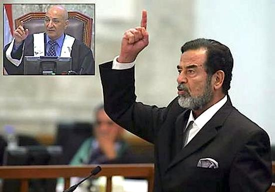Raouf Abdel-Rahman and Saddam Hussein