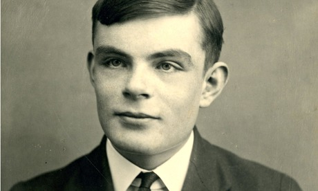 odebreaker Alan Turing devised a test in 1950, saying that if a machine was indistinguishable from a human, then it was 'thinking'. Photograph: Sherborne School/AFP/Getty Images
