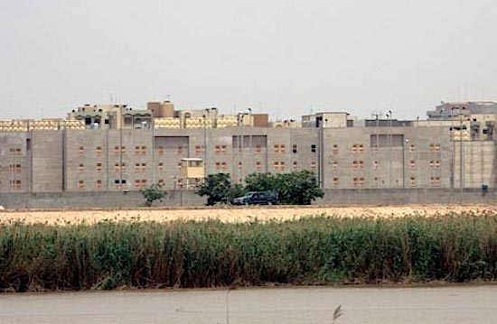 n this May 19, 2007, file photo, a portion of the new U.S. embassy under construction is seen from across the Tigris river in Baghdad. In 2014, by contrast, CIA officers have been largely hunkered down in their heavily fortified Baghdad compound since U.S. troops left the country in 2011, current and former officials say, allowing a once-rich network of intelligence sources to wither. (AP Photo)