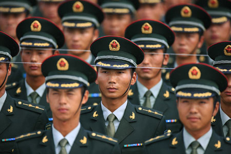 Chinese military officers