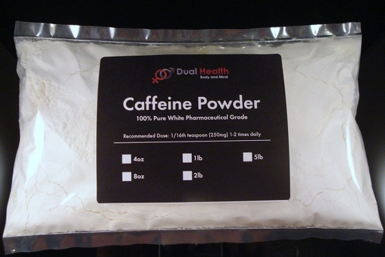 caffeine-powder