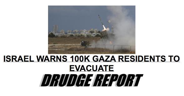 DRUDGE-gaza-evac