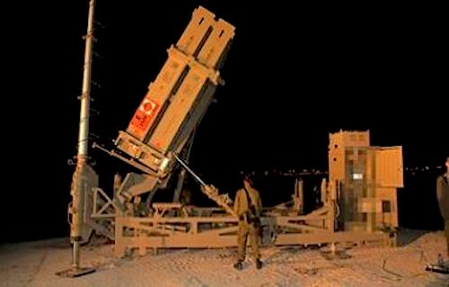 DF deploys 5th Iron Dome Battery Photo: IDF Spokesman's Office