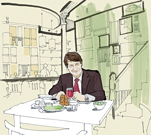 Lunch with PJ O'Rourke