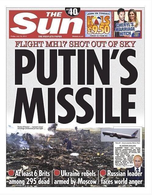 Putin's Missile-The Sun