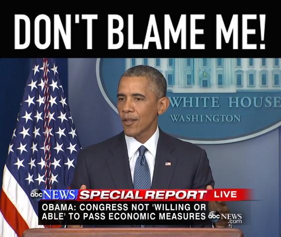 Blamer-in-Chief