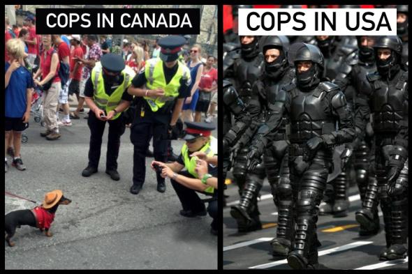 COPS-CANADA-USA