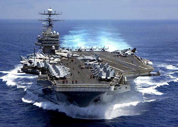 Nuclear powered aircraft carrier USS Carl Vinson (CVN 70)