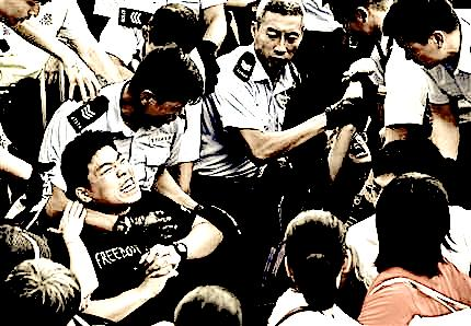 Hong Kong Democracy Showdown