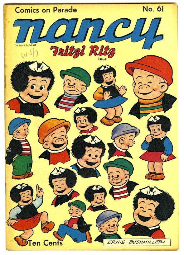 Classic Ernie Bushmiller Covers: 'Comics on Parade' Nancy & Fritzi Ritz
