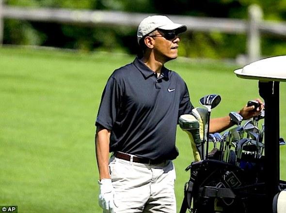 President_Barack_Golf_Obama