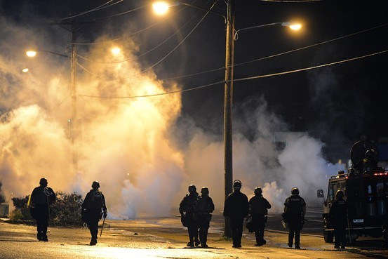 tear-gas-ferguson