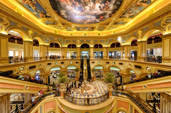 Casino companies are betting on Hong Kong's equity markets to raise funds for expansion. Photo: Grand Emperor Hotel Macau