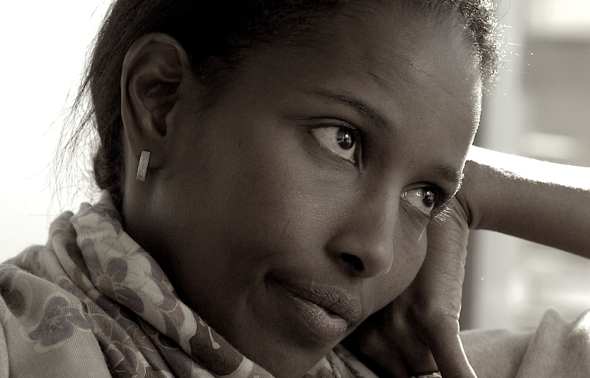 AYAAN - FEB28 - Author Ayaan Hirsi Ali talks about her autobiography. tb (Photo by Tony Bock/Toronto Star via Getty Images) By: Tony Bock Collection: Toronto Star