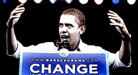 Obama Change Not